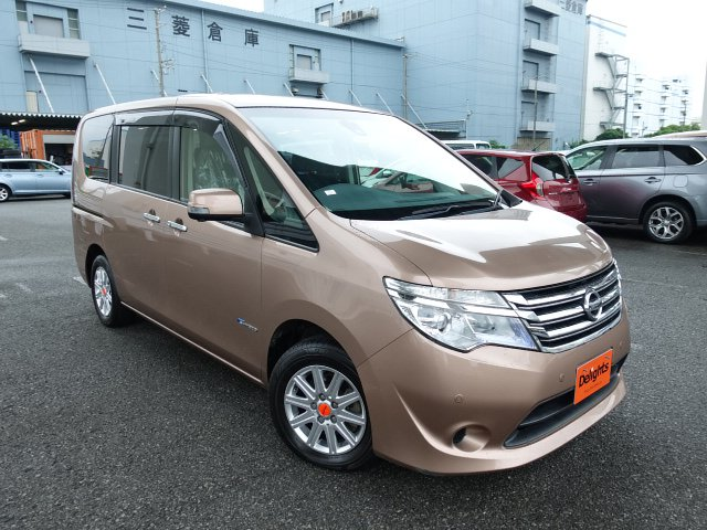 NISSAN SERENA 20X S HYBRID ADVANCED S PACKAGE 2014/4